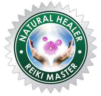 Certified Natural Healer Reiki Master