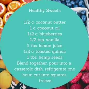 Quinoa and Hemp seeds are optional.