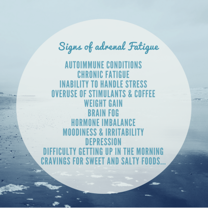 Signs of adrenal fatigue