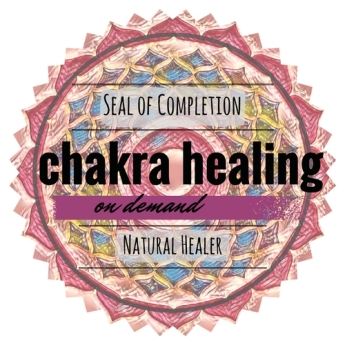 Chakra Healing on Demand Seal